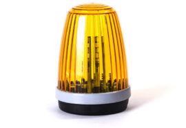 Lampa LED Proxima z wbudowaną anteną 868 MHz 24/230V – pomarańczowa