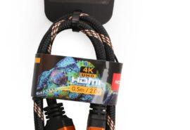 Kabel HDMI-HDMI Opticum RED 4K UHD – 0.5m (v2.0)