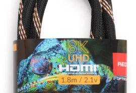 Kabel HDMI-HDMI Opticum RED 8K UHD – 1.8m (v2.1)