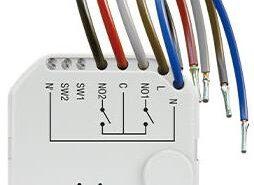 BEZPRZEWODOWY DOPUSZKOWY DWUKANAŁOWY STEROWNIK 230V AC SATEL ASW-210