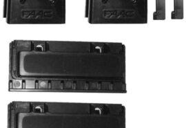 Magnesy wyłącznika krańcowego z uchwytami –  FAAC 740/741 i 746 ER/844 ER