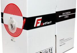 KABEL GETFORT CAT.5E U/UTP PVC SKRĘTKA 305M