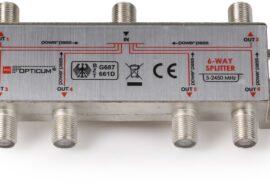 Rozgałęźnik 1-6 DVB-T SAT 6×1