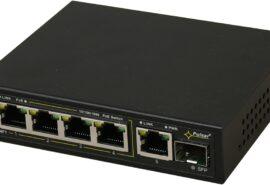 Switch 6-portowy SFG64F1 do 4 kamer IP