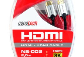 KABEL HDMI Conotech NS-002 2.1 ULTRA HIGH SPEED 8K+ Ethernet – 2 metry