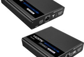 "Konwerter HDMI na LAN ""KASKADA"" 4K Spacetronik IP SPH-676C – zestaw"