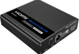 "Odbiornik konwertera HDMI na LAN ""KASKADA"" 4K Spacetronik IP SPH-676C RX"