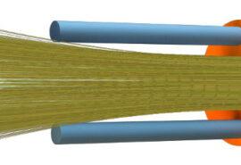 KABEL ŚWIATŁOWODOWY ZEWNĘTRZNY SM DAC  12J (1×12), 1.2kN