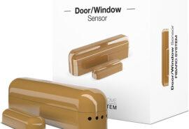 FIBARO Door/Window  Sensor (j. brąz czujnik otwarcia drzwi lub okna)