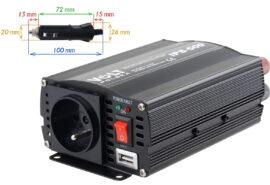 PRZETWORNICA VOLT POLSKA IPS-500 24V / 230V 350/500 W