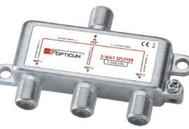 Rozgałęźnik 1-3 DVB-T SAT 3×1