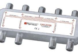 Rozgałęźnik 1-8 DVB-T SAT 8×1