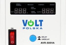 STABILIZATOR NAPIĘCIA VOLT POLSKA AVR 500