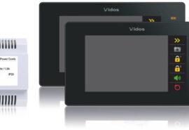 Wideodomofon 2-rodzinny VIDOS DUO 2 x M1021B / S1102A